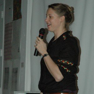 Katja Strunz at the Community Potluck crop